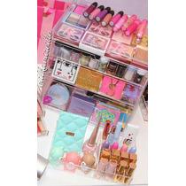 Caja Organizadora Acrilico Maquillaje Labiales Polvos Mac