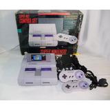 Super Nintendo Snes  Con  Caja