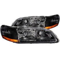 Honda Accord 98-02 Crystal H.l Black Amber