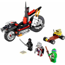 Lego -teenagemutantninjaturtles La Moto Dragón De Destructor