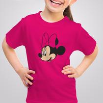 Playera Minnie Mouse Mickey Disney Niña Niño