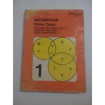 Libro Matemáticas Primer Curso