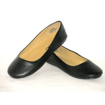 Zapatos Marca Soda Flats Color Negro Affar-s