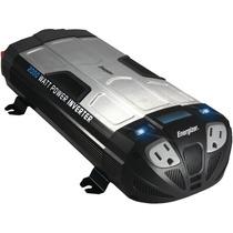 Inversor De Corriente Potencia 2 Salidas 2000w Usb Energizer