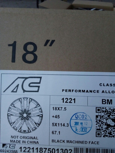 Rines 18 5,114 Mazda,kia,honda,hyundai,mustang. Set De 4!! Foto 6