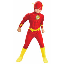 Disfraz Flash Bebe Talla 3/4 Años Original Entrega Inmediata