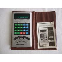 Calculadora Black Jack Radio Shack Ec-21 Estuche Manual 1978