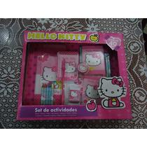 Lote Set De Actividades D Hello Kitty De Sanrio 40 Pzas
