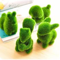 Figura Animalito Pasto Artificial Para Jardin Decoracion