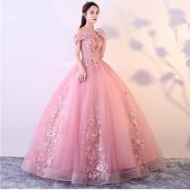 Vestido 15 Años Xv Años Rosa Aplicaciones En Venta En