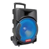 Bafle Recargable Bocina 12 Pulgadas Bluetooth Usb Ksr 5812
