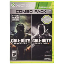 Call Of Duty: Black Ops 1 Y 2 Combo Pack - Xbox 360 Nuevo