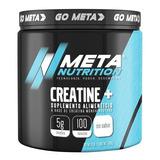 Creatina Meta Nutrition Monohidratada 500 Gramos (100 Servicios)