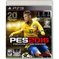 Pro Evolution Soccer, Pes 16 - Playstation 3, Ps3 [físico]