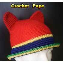 Gorro Fantasia Crochet