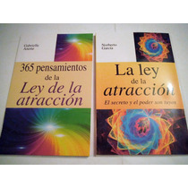 Paquete La Ley De La Atracción + 365 Pensamiento 2 Libros
