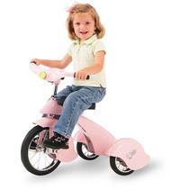 Triciclo Retro Clasico Rosa P/ Niños 2-5 Años, Envio Gratis
