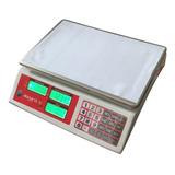 Bascula Digital Electronica 40kg Doble Pantalla Recargable