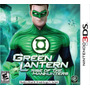 Green Lantern Rise Of The Manhunters 3ds Nuevo