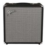 Amplificador Fender Rumble 40 Transistor 40w Negro Y Plata 120v