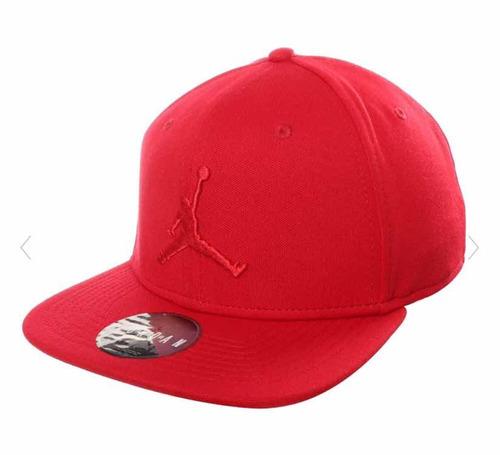 Gorra Snapback Jordan Roja 100% Original Envio Ajustable Ake 65ca86011dd