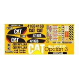 Calcomanías Para Retroexcavadora Caterpillar 416b