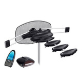 Antena Steren Ant-hd 100 Uhf Aérea Con Rotor Y Booster Hd