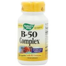 Camino La Vitamina B-50 Complex Cápsulas 100-conde De La Nat