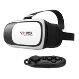 Lentes De Realidad Virtual Visor Vr Box + Control Y Envío