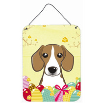 Huevo De Pascua De La Caza Del Beagle Pared O Puerta Colgand