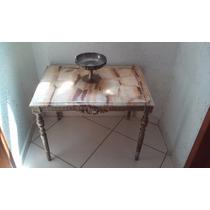 Se Vende Preciosa Mesa Antigua De Marmol