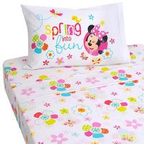 Disney Minnie Mouse Bow-tique 3 Pieza Doble Juego De Sábanas