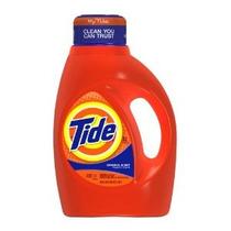 Tide Líquido Detergente De Lavandería Olor Original 50 Onza