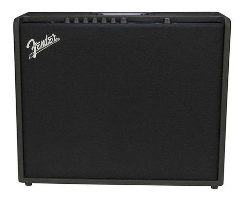 Amplificador Fender Mustang Series 200 Transistor 200w Negro 110v