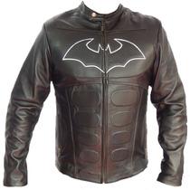 Chamarra De Batman En Piel