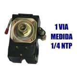 Automático Para Compresora Aire Presostato 1 Vía 1/4