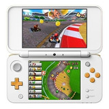 Nintendo New 2ds Xl Mario Kart 7 Bundle Blanco Y Naranja