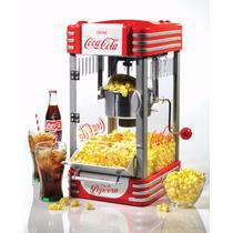 Maquina Para Hcer Palomitas Nostalgia Electrics Coca Cola