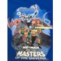 Playera Manga Larga Azul Vintage - Masters Of The Universe