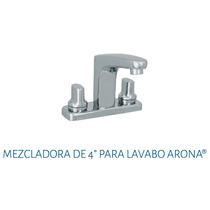 Mezcladora Para Lavabo 4 Urrea 9083ar.9 Arona A. Inoxidable