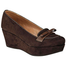 Zapatos Giusto 9607 Cafe Tacon 6 Cm Pv