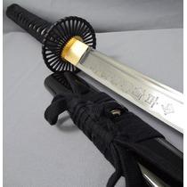 Katana Ultimo Samurai Replica Fiel 100% Funcional Full Tang