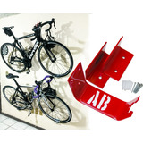 2 Soportes Rack Para Colgar 2 Bicicletas Pared Colores/envio