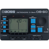 Boss Db-60 Dr. Beat Metrónomo Timer Stop Watch