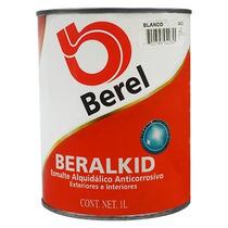 Pintura Esmalte Beralkid Blanco (1 Litro) Berel