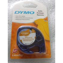Dymo Tag Etiqueta Repuesto Planchable Blanco 12mm. X 2m.