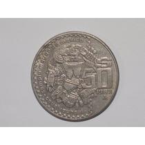 Monedas Antiguas 50 Pesos Templo Mayor De México 82 Y 83