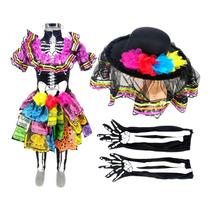 Busca Vestidos De Catrina Para Niñas Con Los Mejores Precios