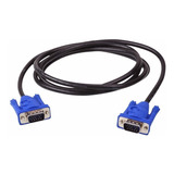 Cable Vga A Vga Macho / Macho 1.5 Metros Laptop Pc Proyector