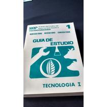Guía De Estudio Tecnología I - Telesecundaria Sep